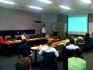 Dr. Moacyr ministrando curso – Universidade de Columbia