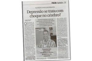 Dr. Moacyr é entrevistado pela Folha de Londrina