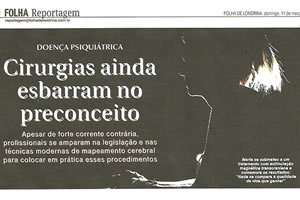 Dr. Moacyr é entrevistado pelo jornal Folha de Londrina